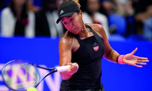Naomi Osaka blazes into Tokyo quarters