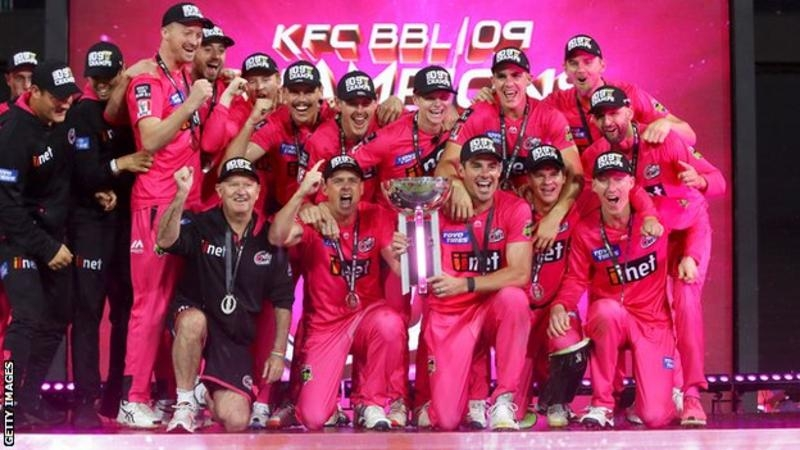 Big Bash League: Sydney Sixers beat Melbourne Stars to win title