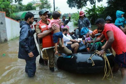 '324 lives lost' Panicked pleas for help as Kerala flood toll triples to 324