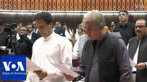 Imran Khan to begin premier's innings on tough political pitch