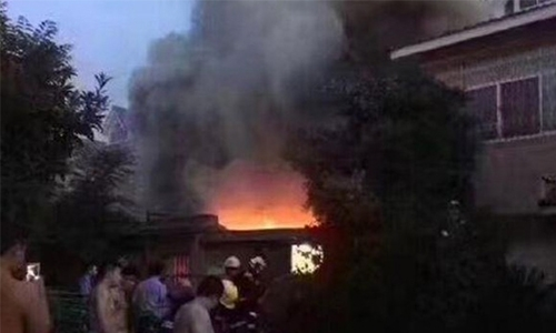 Arson suspect arrested after 22 killed in China fire