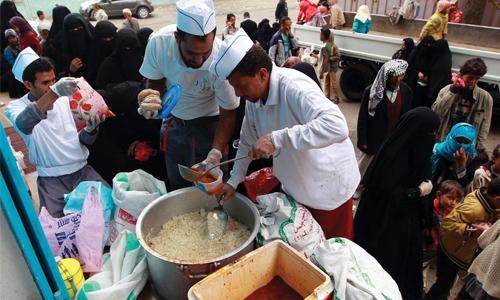 Bahrain attends Yemen aid meet