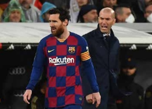 Zidane wants Messi to stay in Spain despite Barca exit claims