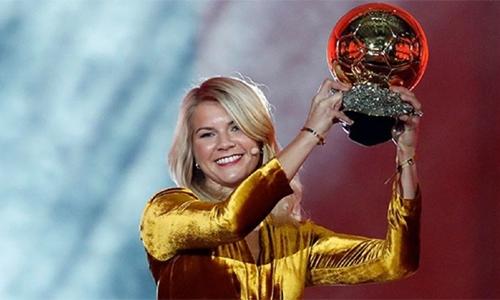 'Twerk' request mars Hegerberg's Ballon d'Or