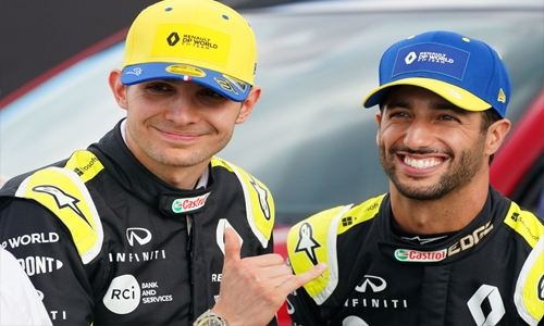 Renault's Ricciardo, Ocon looking forward to racing in Bahrain 'heat'