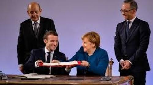 New Franco-German treaty paving the way for further European integration