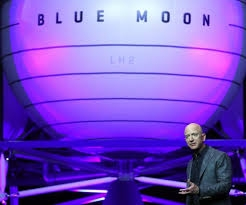 Amazon's Bezos unveils lunar lander project 'Blue Moon'