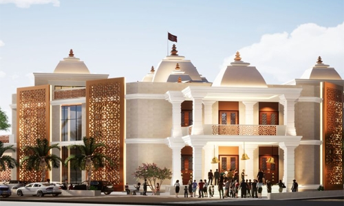 Majestic Hindu Temple to open doors by last quarter of 2022 in Dubai