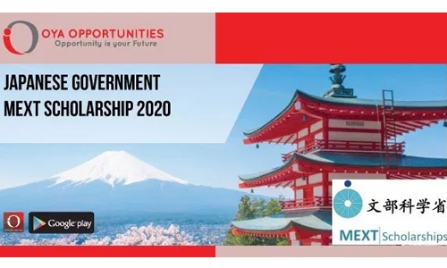 Japanese govt invites application for MEXT scholarship 2020