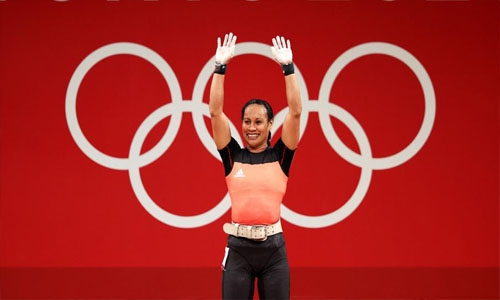 Toua becomes first five-time woman Olympian lifter at Tokyo Games