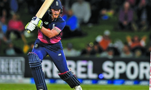 Stokes steers England home in second NZ ODI