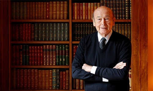 French Former President Giscard d'Estaing dies at 94