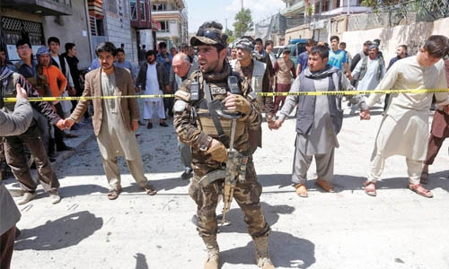 57 killed in Kabul suicide blast