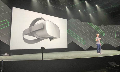 Facebook announces cord-free Oculus Go