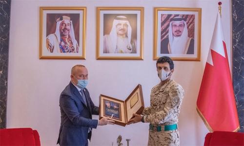 HH Shaikh Nasser boosts Bahrain-Chechen ties