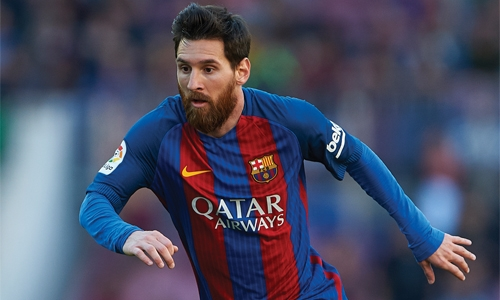 Messi set for 600th Barca appearance