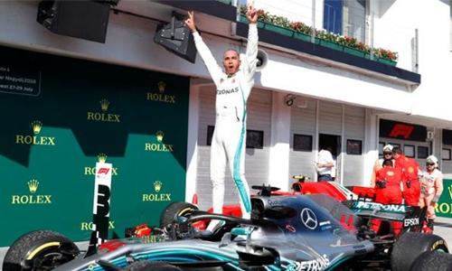 Hamilton back on top in Sochi