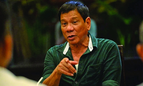 Drug war won't stop, Duterte tells ICC