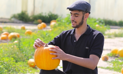 Meet the 'Pumkin Man' of Bahrain