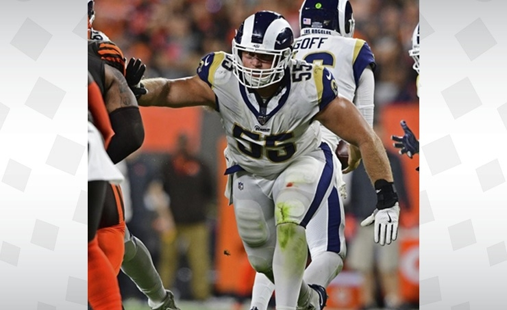 Rams Allen 1st NFL player to reveal positive COVID-19 test