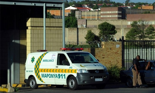 South African prison guards face suspension over strip show