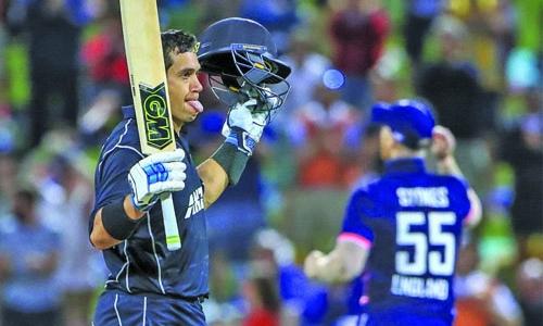Taylor, Latham lift New Zealand