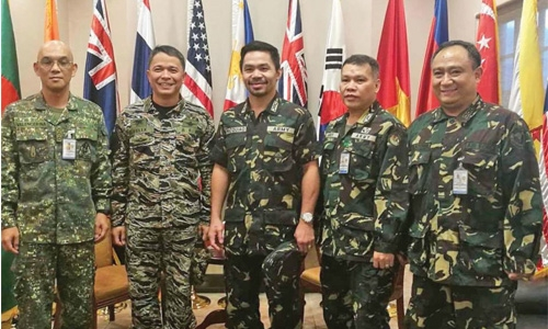 Pacquiao makes colonel of Philippines army