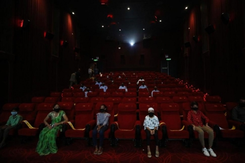 India Cinemas Reopen to Small Audiences After Months in Dark