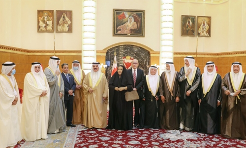 HM King hailed for projects and services