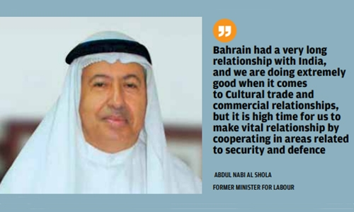 India has a bigger role to play in Bahrain: Al Shola