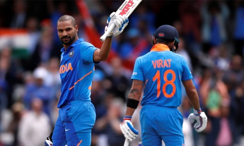 Dhawan ton helps India win