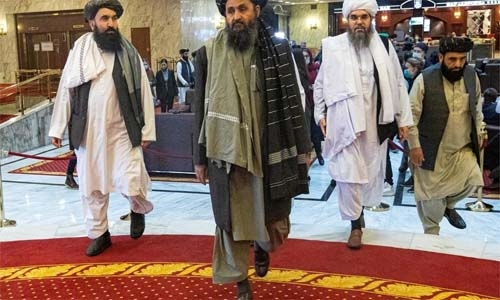 Taliban say 'Islamic system' only way to Afghan peace, women's rights