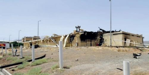 Blasts in Iran were attacks?