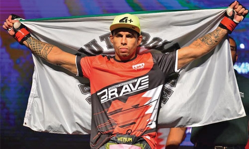 Brazil confirms four fighters at Brave
