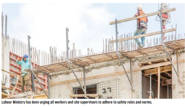 Over 1,000 injured in worksite accidents last year, says SIO