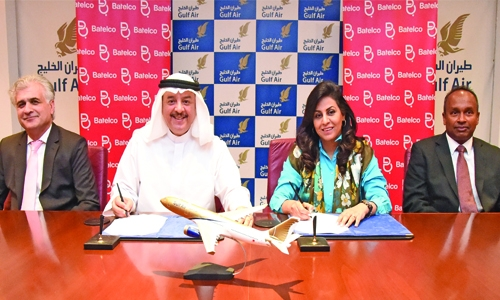Batelco and Gulf Air sign new deal for communication
