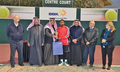 Hamad wins boys title