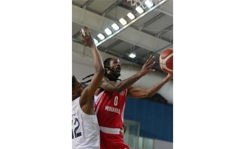 Muharraq defeat Al Najma in Zain basketball league