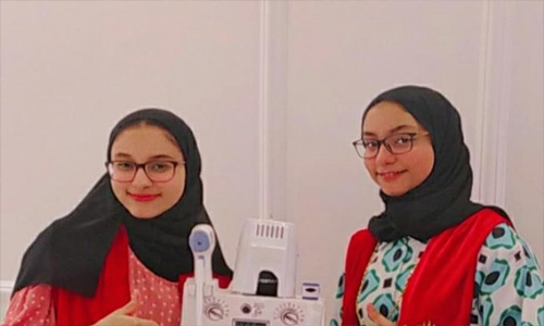 Two Bahraini students second in robotic competition