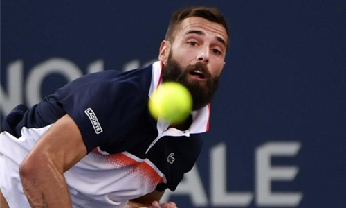 Top seeds Paire, Shapovalov reach Winston-Salem third round