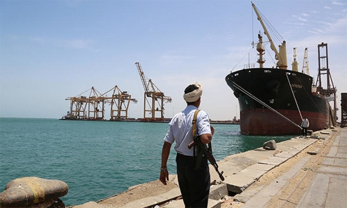 Bahrain condemns Houthi attempted attack in Red Sea