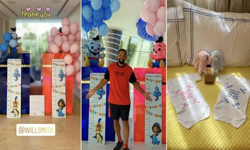 Will Smith plays doting uncle to Sheikh Hamdan's twins, sends adorable gifts
