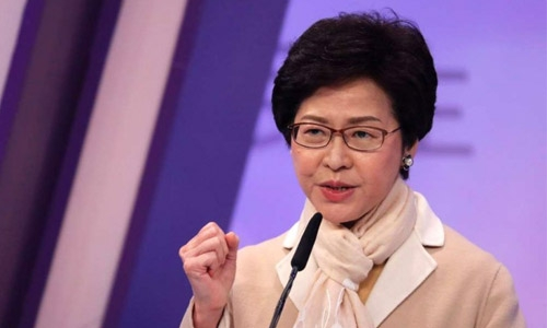 Beijing favourite Lam wins Hong Kong leadership
