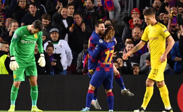Barcelona and RB Leipzig reach Champions League last 16