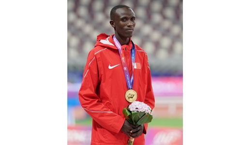 Koech begins Bahrain's athletics medal bid in Steeplechase