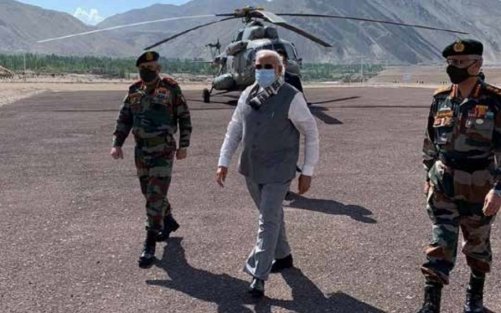 India's Modi makes surprise China border visit after clash