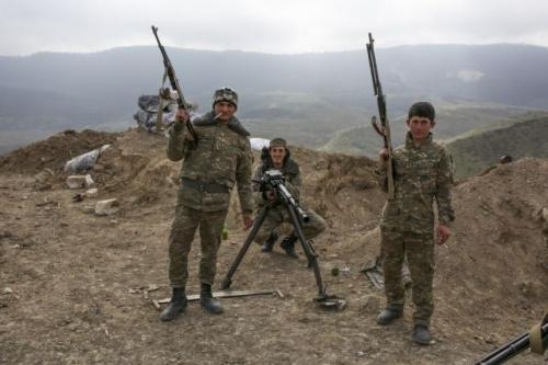 Nagorno-Karabakh says death toll among its military rises to 673