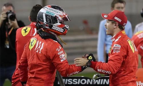 Ferrari new boy Leclerc maybe faster than Vettel: Ecclestone