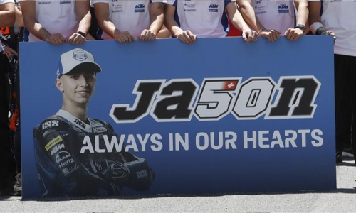 Swiss motorcyclist Dupasquier dies following Moto3 crash