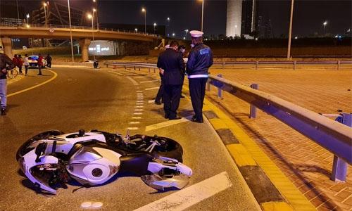 Bahraini motorcyclist dies in crash